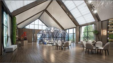 140平米田园风格餐厅装修效果图