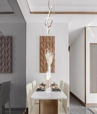 110平米三室两厅宜家风格餐厅装修案例