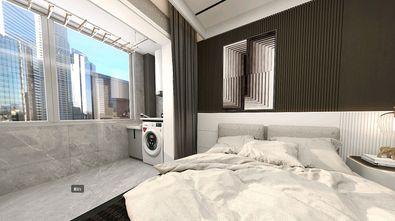 140平米三室两厅英伦风格卧室欣赏图