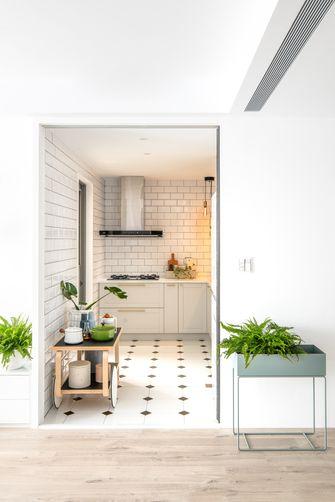 60平米公寓现代简约风格厨房装修案例
