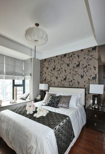 140平米三室四厅中式风格卧室装修案例