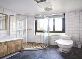 130平米三室一厅日式风格卫生间图片大全
