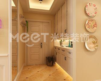 120平米三室两厅田园风格玄关装修图片大全