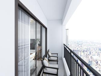 100平米四室两厅中式风格阳台图