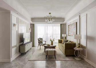 110平米三室一厅法式风格客厅欣赏图