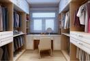 120平米公寓中式风格衣帽间效果图