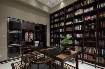 140平米四室三厅中式风格书房设计图