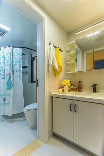 100平米三室两厅混搭风格卫生间图片大全