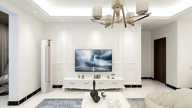 90平米三室两厅混搭风格储藏室装修效果图