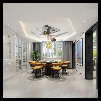 140平米四室一厅混搭风格餐厅欣赏图
