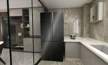 140平米三室两厅英伦风格厨房效果图