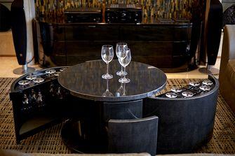 120平米现代简约风格餐厅效果图