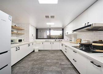 130平米三室一厅日式风格厨房设计图