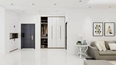 经济型140平米三室两厅现代简约风格走廊装修图片大全