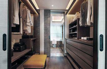 130平米三室三厅中式风格衣帽间欣赏图