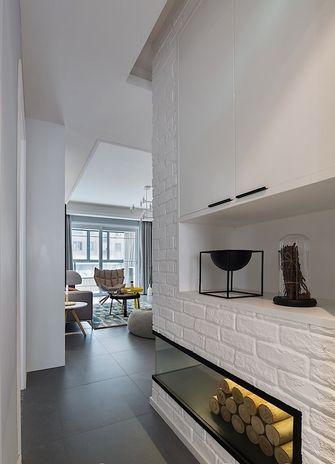 110平米现代简约风格走廊设计图