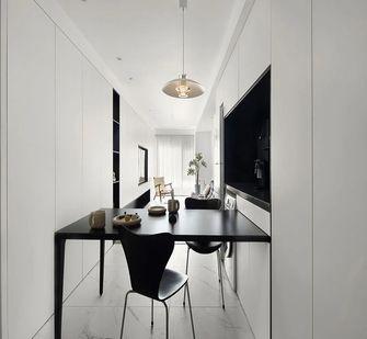 60平米一居室现代简约风格餐厅装修图片大全