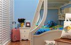 50平米田园风格儿童房效果图