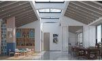 140平米复式法式风格阁楼设计图
