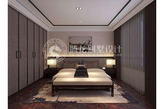 140平米别墅现代简约风格卧室背景墙装修图片大全