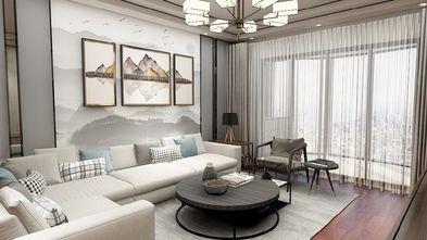 110平米三室两厅混搭风格客厅图