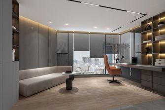 140平米四室两厅现代简约风格书房装修图片大全