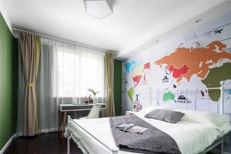 130平米复式北欧风格卧室设计图