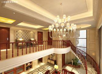 20万以上140平米复式混搭风格楼梯图