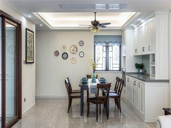 140平米四室两厅田园风格餐厅设计图
