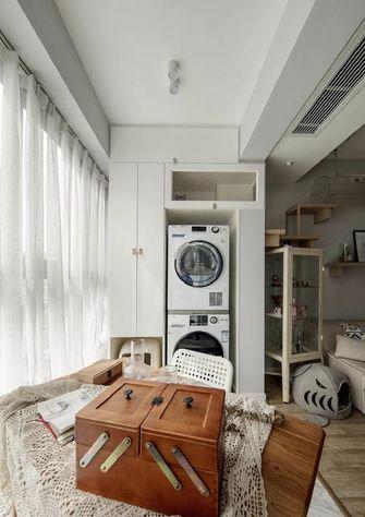 60平米一室两厅日式风格阳台图