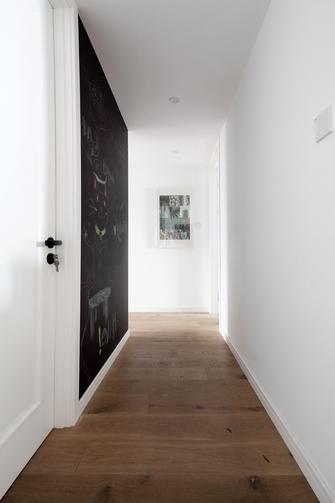 130平米三室两厅北欧风格走廊图片