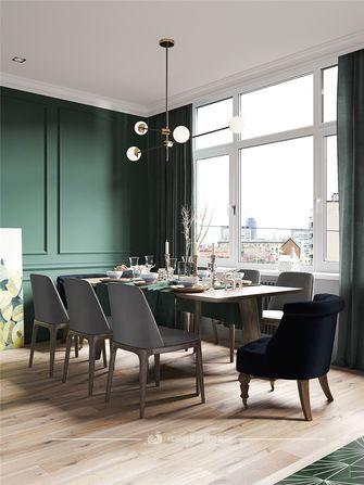 50平米一居室美式风格餐厅图片