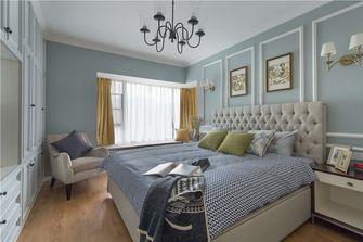 130平米三室三厅美式风格卧室装修案例