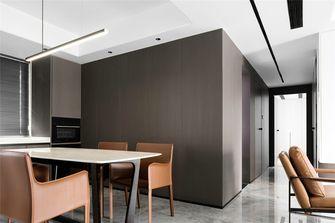 140平米三室四厅现代简约风格餐厅图片大全
