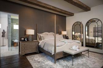 140平米复式地中海风格卧室装修图片大全