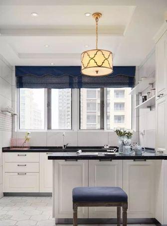 140平米四室一厅美式风格厨房欣赏图