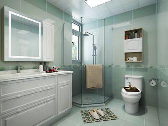 90平米一室一厅现代简约风格卫生间装修案例