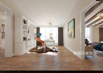 140平米复式美式风格书房图片大全