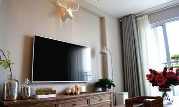 60平米公寓美式风格客厅图片
