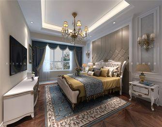 140平米三室三厅欧式风格卧室装修效果图