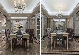 140平米四室三厅新古典风格餐厅装修案例