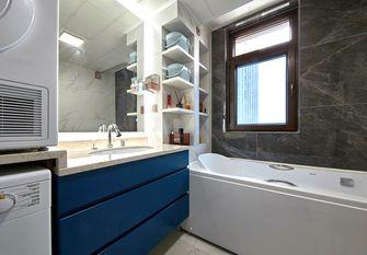120平米三室一厅现代简约风格卫生间图片