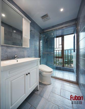 100平米三室一厅英伦风格卫生间图片