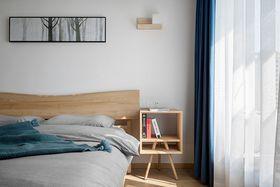 110平米三室兩廳日式風格臥室裝修圖片大全