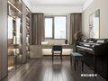 140平米三室两厅中式风格阳光房装修案例