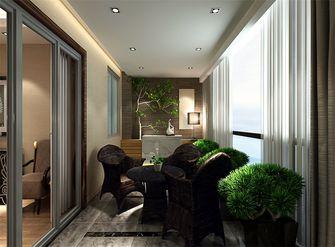 富裕型140平米四室两厅现代简约风格阳台设计图