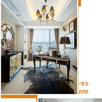 20万以上100平米三室两厅英伦风格阳光房图片