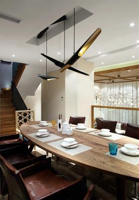 120平米復式混搭風格餐廳裝修案例