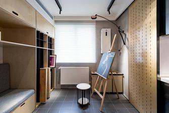 140平米四室一厅现代简约风格衣帽间装修图片大全