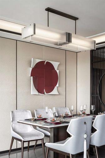 130平米四室一厅中式风格餐厅图片大全